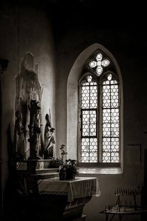 alsace: Chapelle Saint-Sebastien de Dambach-la-Ville , Alsace, France Stock Photo