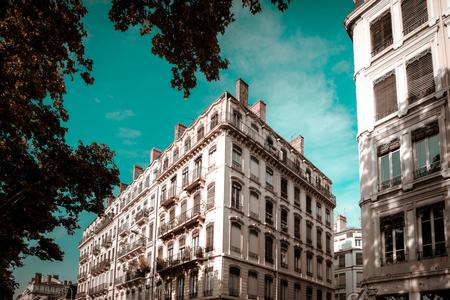 Lyon city landscape view, France, travel concept