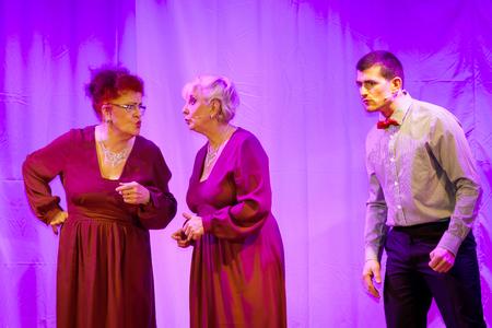Editorial,14 January 2016: France: Neuve-Eglise: Spectacle par le cabaret satirique SBrannkessele