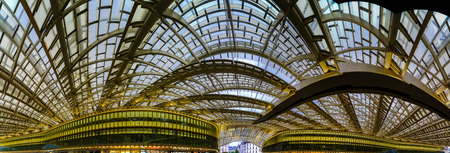 Les Halles metro station and shopping mall cupola, Paris, France Reklamní fotografie