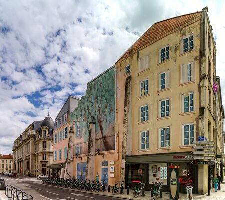 Editorial,31st July 2016: Nancy, France: Touristic center of the city, street view Editorial