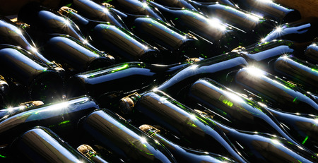 sauvignon blanc: Champagne producing and bottling in Alsace, France. Small wine-producing business.