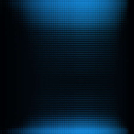 Doted background in blue and black color Stock Photo