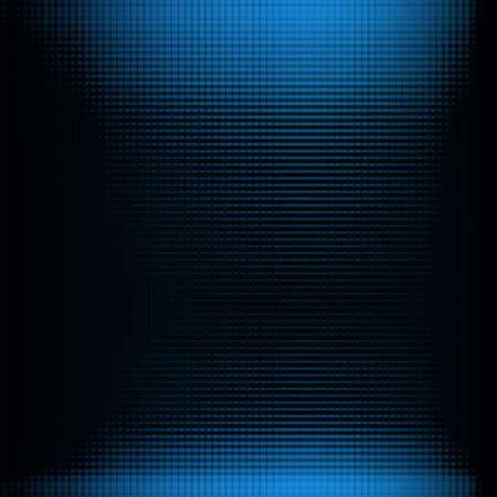 distort: Doted fondo en color azul y negro Foto de archivo