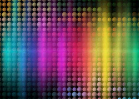 colorful party background with neon figures, rainbow background Stock Photo - 5031549
