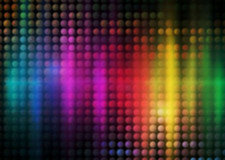 colorful party background with neon figures, rainbow background Stock Photo - 5031546