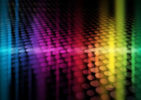 colorful party background with neon figures, rainbow background Stock Photo - 5031545