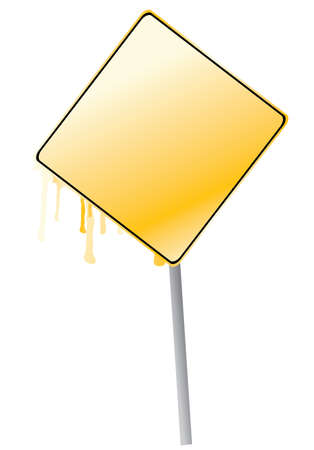 display board: empty display board yellow color with splash