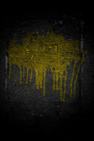 new asphalt texture black color urban grunge with splash photo