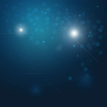 Glitter Abstract Lights with stars and bokeh Stock Photo - 6322655