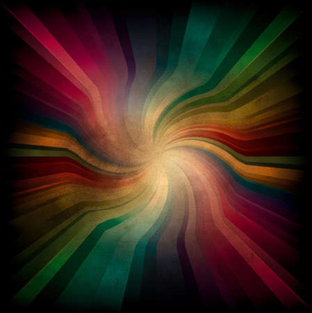 Magic swirl Rainbow Light with dark edge on burnt paper Stock Photo - 6322662