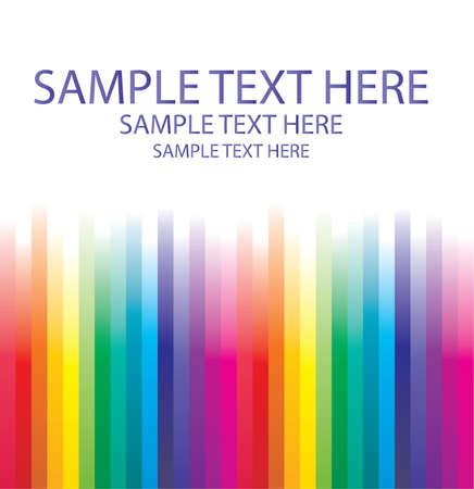 place for text: Fondo abstracto de arco iris de l�neas con lugar para el texto