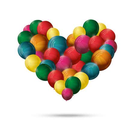 lovestruck: Valentines Abstract heart balloon