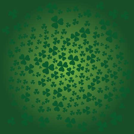 patrik: St Patrick day background in green color Illustration