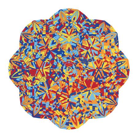 kaleidoscope: New abstract image with kaleidoscope Vector illustration