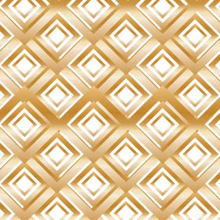 Rhombuses와 골드 현대 패턴입니다. 삽화. 일러스트