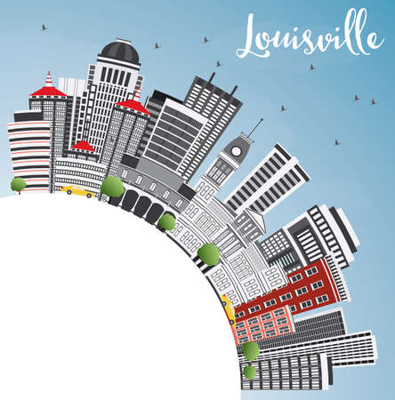 Modern Architecture Louisville Ky 161 louisville kentucky stock illustrations, cliparts and royalty