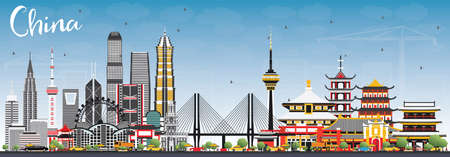 China City Skyline.