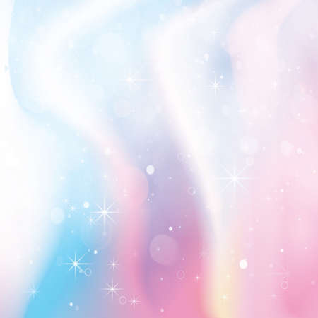 Holographic Color Gradient Background. Vector Illustration. Çizim