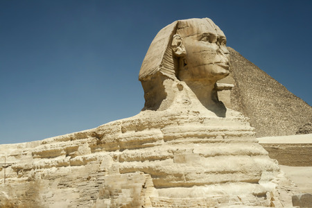 The Sphinx at Gisa photo
