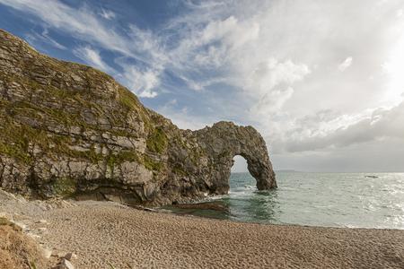 durdle door: Durdle Door, Dorset, England Stock Photo