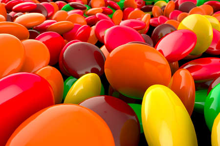 Colored candy Stock Photo - 16858499