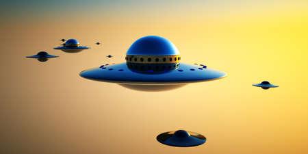 UFOs Stock Photo - 16858496