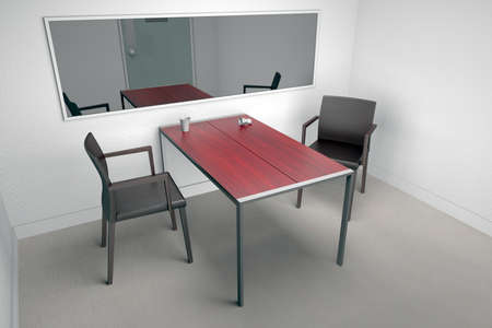 Interrogation room photo
