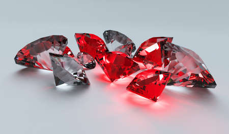 ruby stone: Rubies and Diamonds