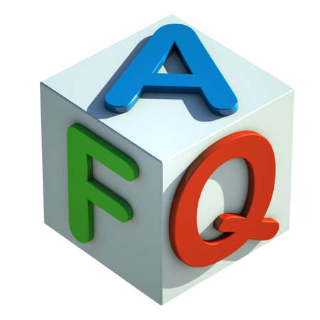 FAQs Stock Photo - 17263840