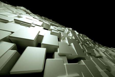 Blocky surface