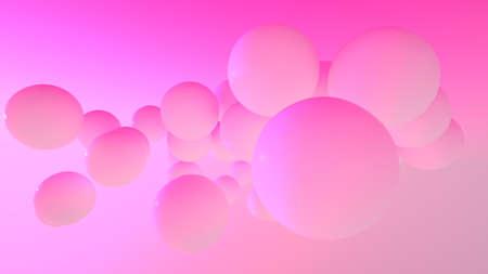 Floating pinks balls