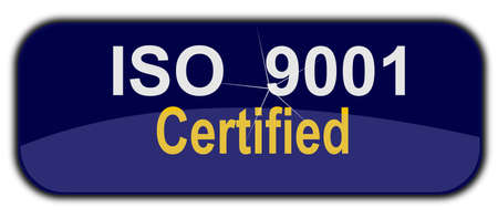 iso: iso 9001 sign international standards