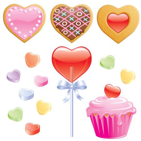 galleta de chocolate: 14, flecha, fondo, belleza, belleza, aroma, celebrar, recorte, Cupido, citas, d�a, emoci�n, participaci�n, medio ambiente, febrero, flores, flores, regalos, verde, saludo, feliz, coraz�n, de vacaciones, Irlanda, irland�s, aisladas, el amor, el amante, el matrimonio, la ocasi�n, el Vectores