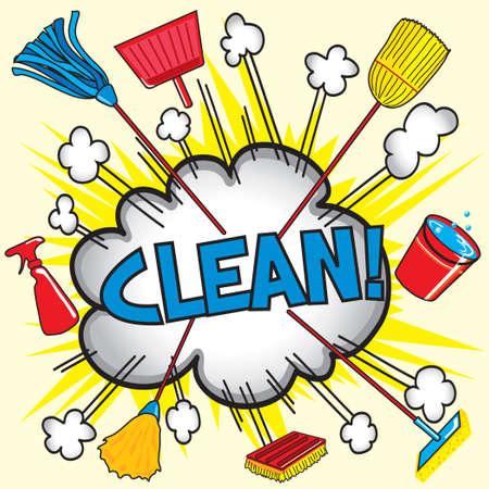 Cloud Burst Explosion mit Reinigungsgeräte für Geschäfts-oder Haushalt