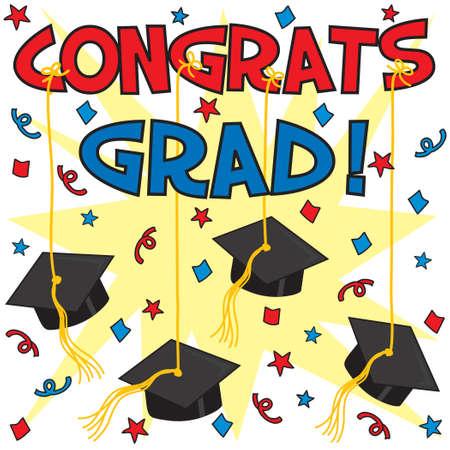 graduacion escolar: Graduaci�n con la tarjeta de tapas colgado por cinta. Excelente para cualquier graduaci�n