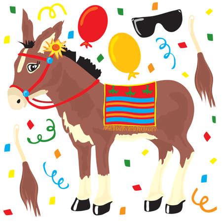donkey: Pin de staart van de Ezel