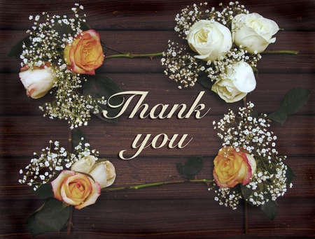 condolence: Thank you card for any occasion