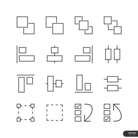 interface design: User Interface   Design elements Icons set Illustration