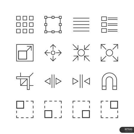 User Interface   Design elements Icons set Stock Vector - 26776958