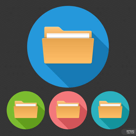 dossier: Folder  Illustration
