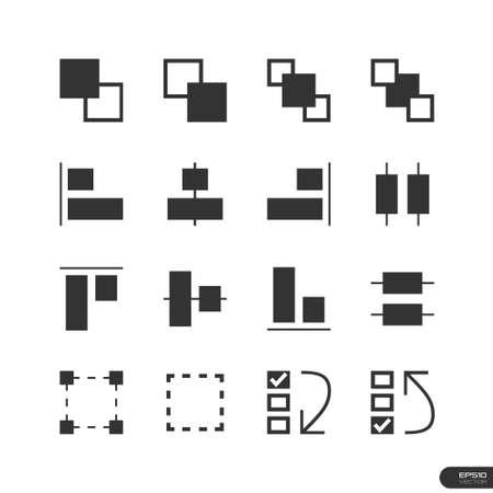 User Interface   Design Elements icon set Vector