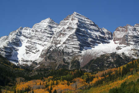 colorado: snow cap