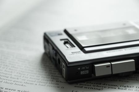 grabadora: Grabadora de micro casete