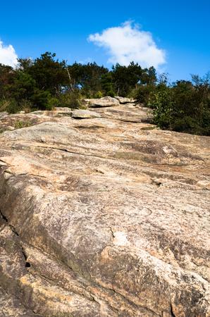 steep: Steep rocky