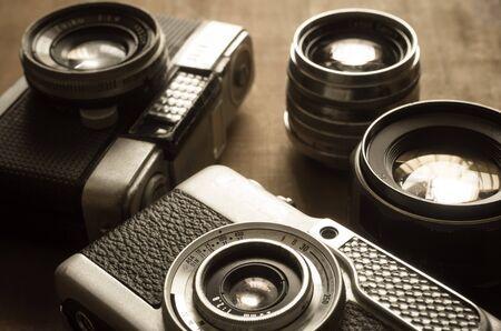 viewfinder vintage: Vintage half frame viewfinder camera