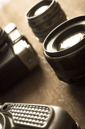 selenium: Old camera and lens