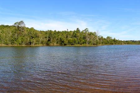 bluesky: bluesky and lake