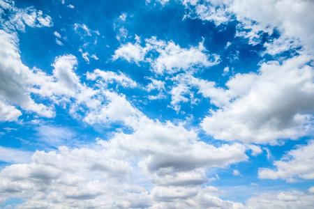 Klarer blauer Himmel mit bewölkt als Hintergrund Tapete, Pastell Himmel Tapete
