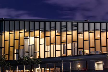 penthouse: Closeup sky lounge of the high rise condominum